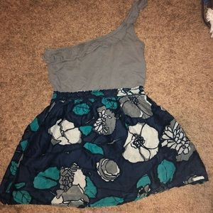1 shoulder Hollister mini dress